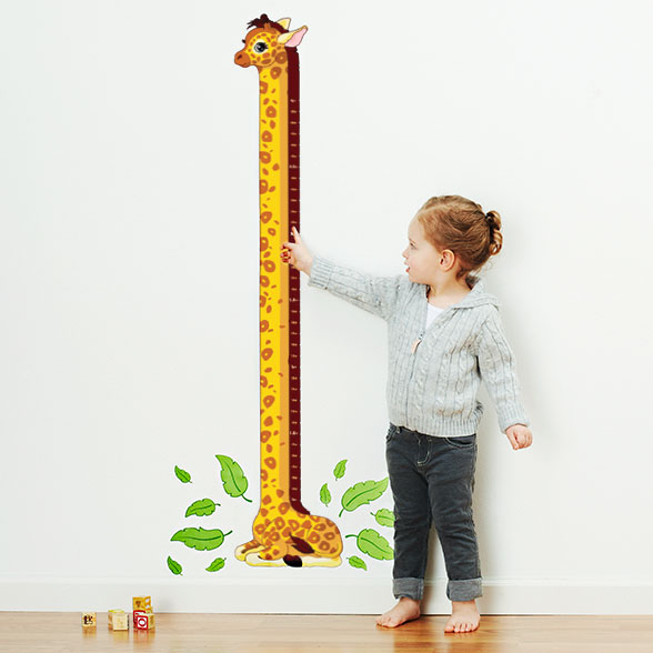 Labels For Kids Personalized Growth Chart Decals