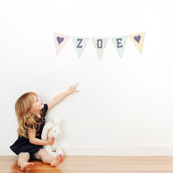Personalized Bunting