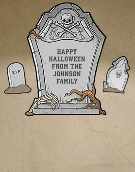 Personalized Tombstone