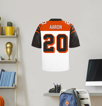 Football Jersey Wall Decal