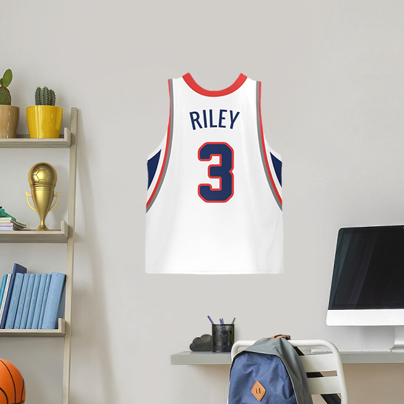Basketball Jersey Wall Decal