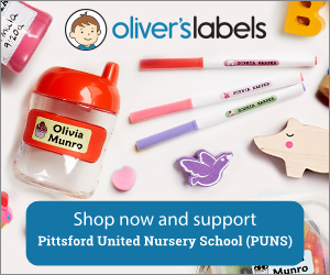 Shop Oliver's Labels Pittsford United Nursery School (PUNS)