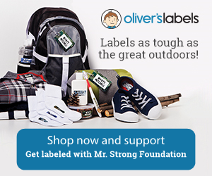 Shop Oliver's Labels Get labeled with Mr. Strong Foundation